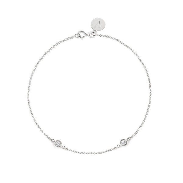TousiAttar Diamond Bracelet 0.10 ct White Gold