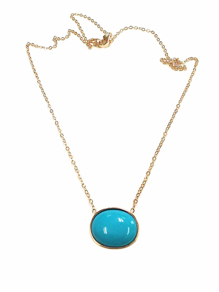 TousiAttar Sleeping Beauty Turquoise Necklace