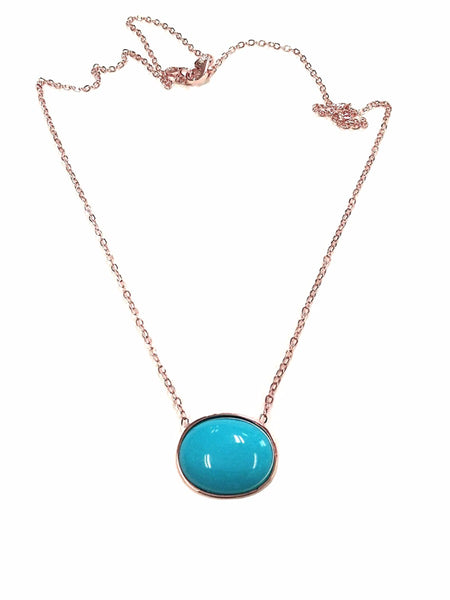 TousiAttar Sleeping Beauty Turquoise Jewelry Necklace