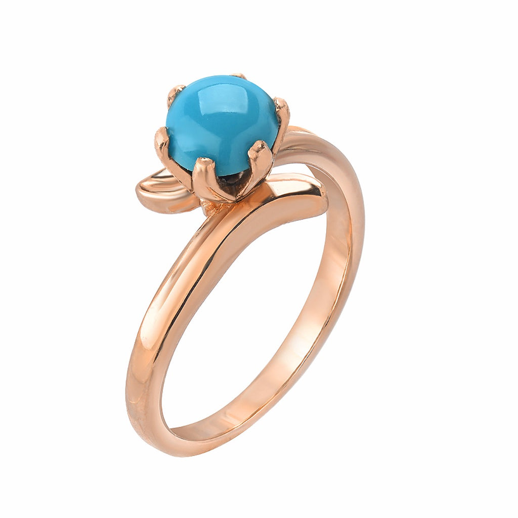 TousiAttar Jewelers Turquoise Rings Womens