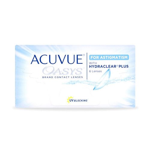Acuvue Oasys HydraClear for Astigmatism