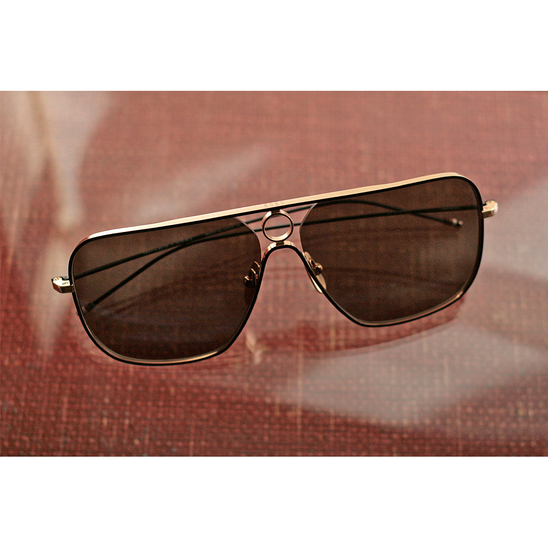 THOM BROWNE | GOLD AVIATOR