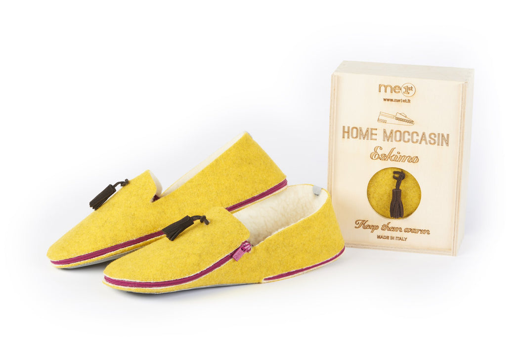 Home Moccasin Eskimo Amarillo