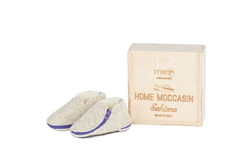 Home Moccasin Baby Beige