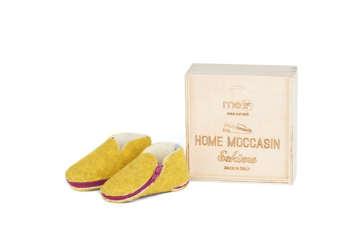 Home Moccasin Baby Amarillo