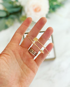 Arrow Bangle! We rise by lifting others!