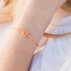 Knot Bangle Could KNOT Thank You Enough!