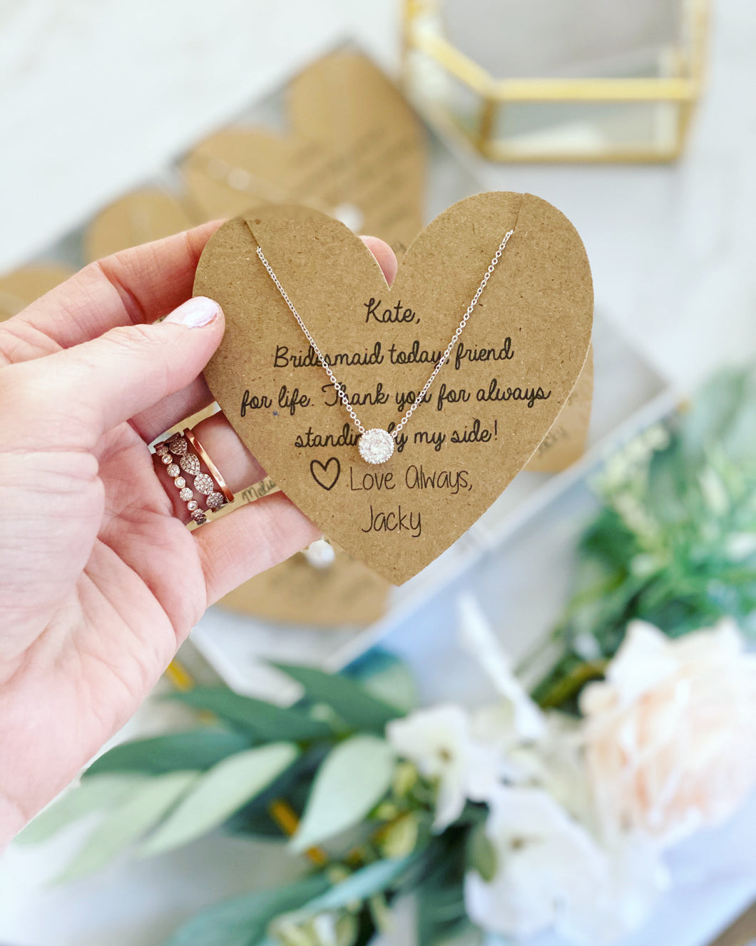 Bridesmaid Today, Friend for Life Bridesmaid Necklace!