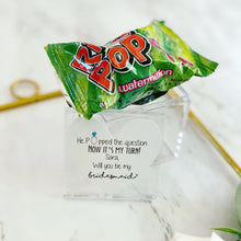 Pop the question Ring Pop gift!