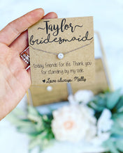 Bridal Party Thank you Necklace!