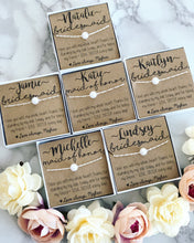 Bridal Party Pearl Necklaces!