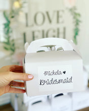 Bridesmaid Boxes! Robe and Knot Bangle