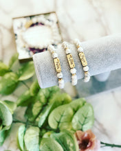 Marble beaded bracelet Encouragement gift!