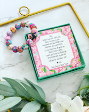Flower Girl Beaded Flower beads bracelet!