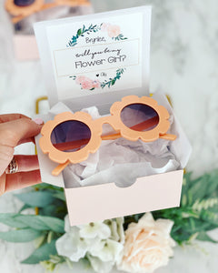 Flower Girl Flower Sunglasses!