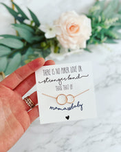 New mom infinity necklace!