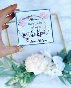 Knot Bangles Floral Thank you Card!