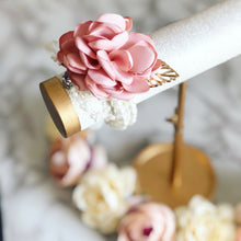 Flower Girl Pearl Beaded Flower Corsage Bracelet!