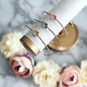 Flower Girl thank you knot bangle!