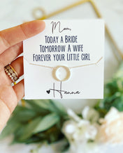 Forever your Little Girl Circle Pendant Necklace!