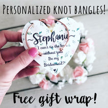 Knot Bangle & Floral Heart Card!