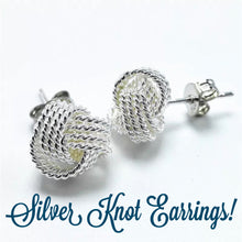 Knot Earrings and Knot Bangle Bridesmaid Gift Set!