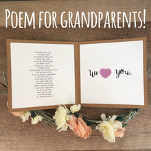 Pregnancy Card! Surprise Your Grandparents!