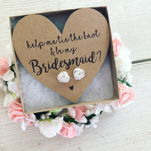 Silver Knot Bridesmaid Earrings. Help Me Tie the Knot?