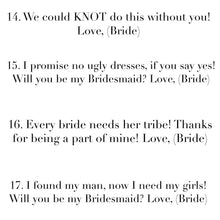 Can't say I DO without you! Bridesmaid Knot Bangles!