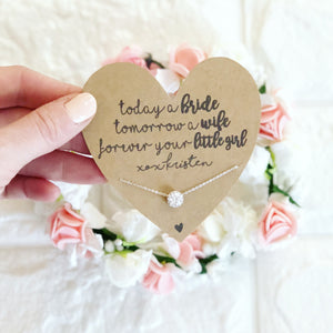 Mother of the Bride Necklace!