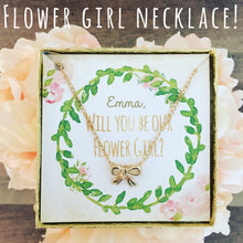 Flower Girl Necklace!