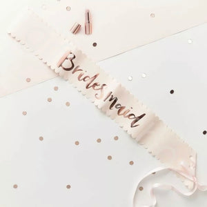 FREE SHIPPING * Bridal Party Sash