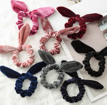 To Have and to Hold your hair back! Velvet Hair tie!