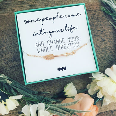 Arrow Necklace Change your Direction