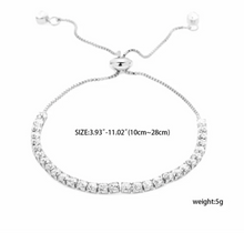 Cubic Zircon Bracelet Adjustable bracelet!
