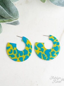On a Roll Hoop Earrings