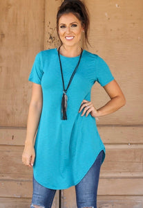 Boyfriend Tunic in Jade