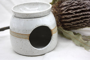 White Oil burner
