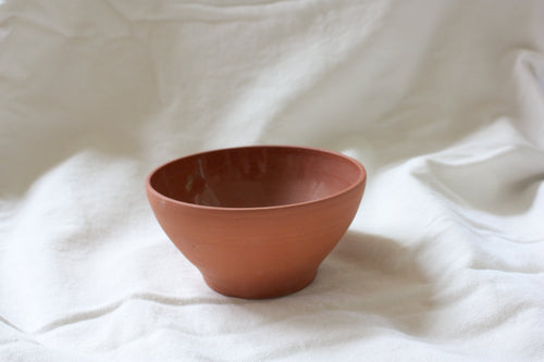 Terracotta simple bowl