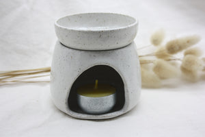 White speckle Arch Oil burner