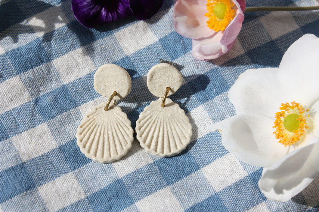 Seashell Earrings - Small