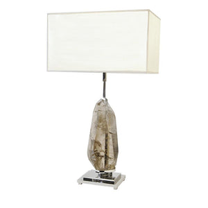 KA1781 SMOKY QUARTZ TABLE LAMP