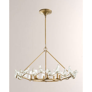 QZ0341 DOVE CHANDELIER