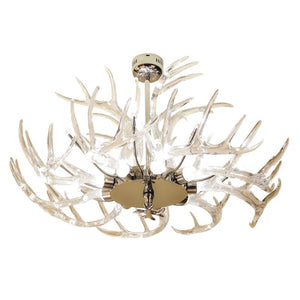 QZ9091 CRYSTAL DEER CHANDELIER