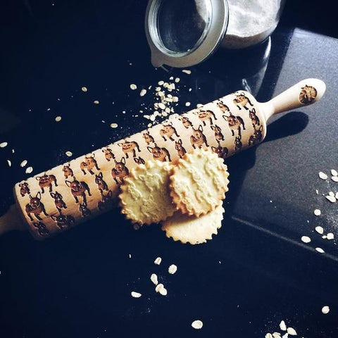 FRENCH BULLDOG ROLLING PIN