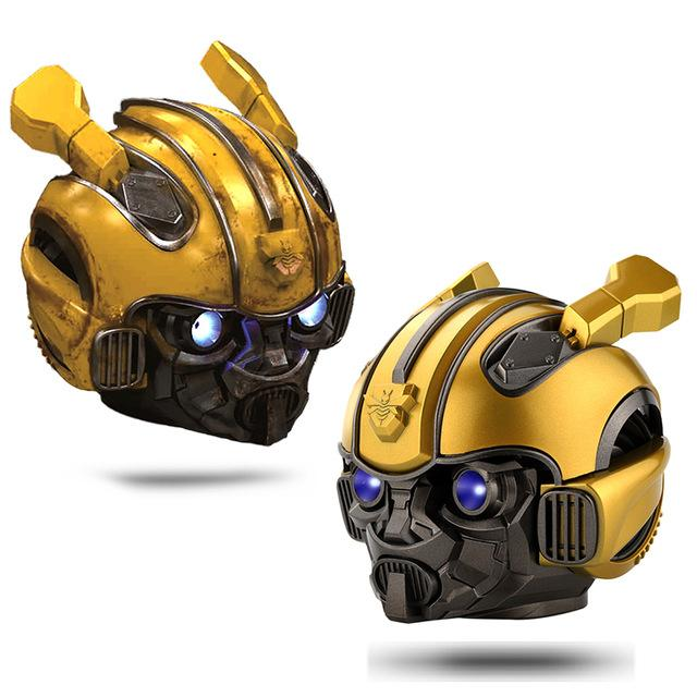 Bumblebee Helmet Bluetooth Wireless Mini Speaker