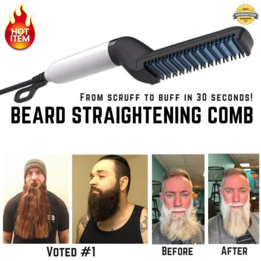 Quick Beard Straightener