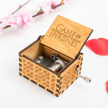 Load image into Gallery viewer, Game of Thrones Wooden Music Box