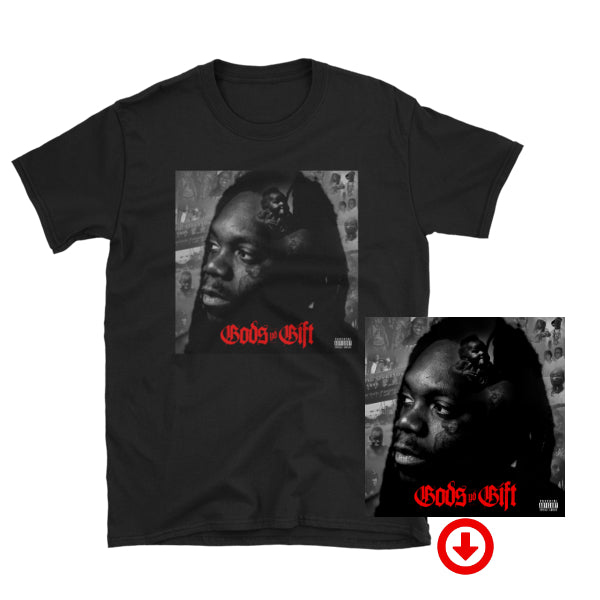 God's Gift Digital Album + T-Shirt