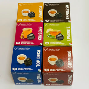 Nescafé Dolce Gusto Compatible: Pick your Own Bundle - 6 boxes